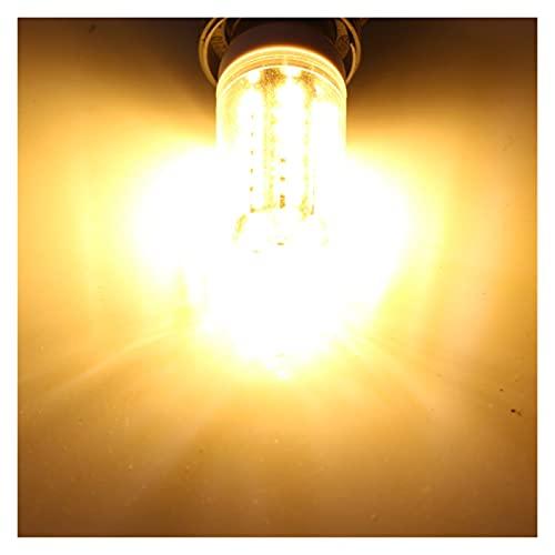 Lampada Mais 1pc, lampadina di mais a led E27 E14 B22 12W AC DC 12 24 36 V Volt Super Candela 12V 24V 36V 48 V 60 V 110V 220V Spotlight Home Lamp (Color : B22)
