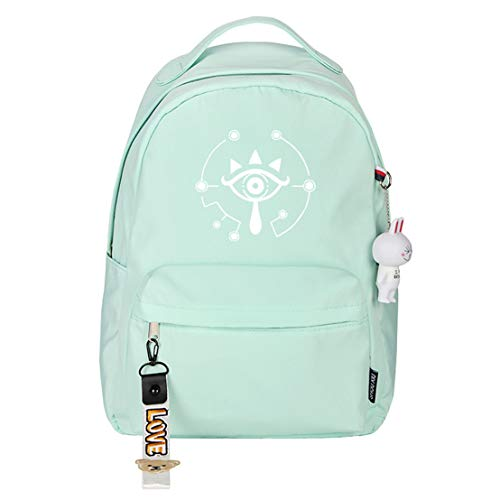 YOYOSHome Anime Cosplay The Legend of Zelda Mochila Bookbag Daypack Bolsa de hombro Escuela