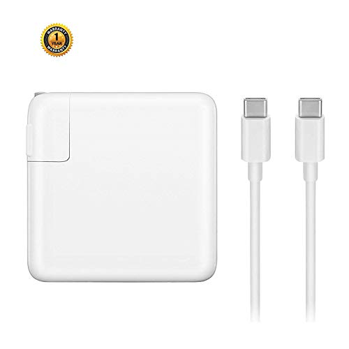 "Sehonor USB-C Charger With 61W Power Delivery 3.0 Port, Replacement For Macbook Pro With 13"" After 2016 And Mac book Air 2018,Compatible With Samsung,Nexus,Nintendo Switch,Lenovo,ASUS,Acer,Dell Loptop"