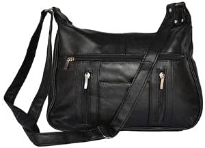 Fin Stores Women's Handbag Super-Soft Genuine Lambskin Leather Purse/Bag