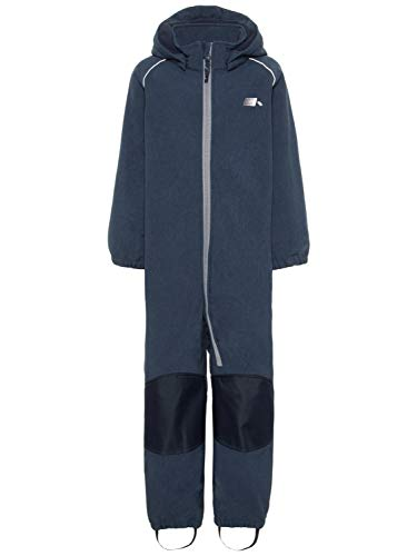 NAME IT Jungen Softshell Overall Schneeanzug Regenoverall 13154022 Sky Captain Gr.92