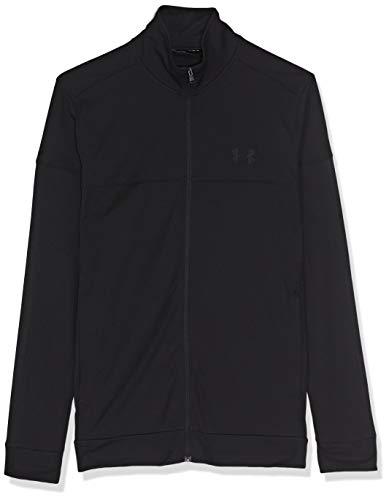 Under Armour Sportstyle Pique Track Jacket, Haut Homme - Noir - XL