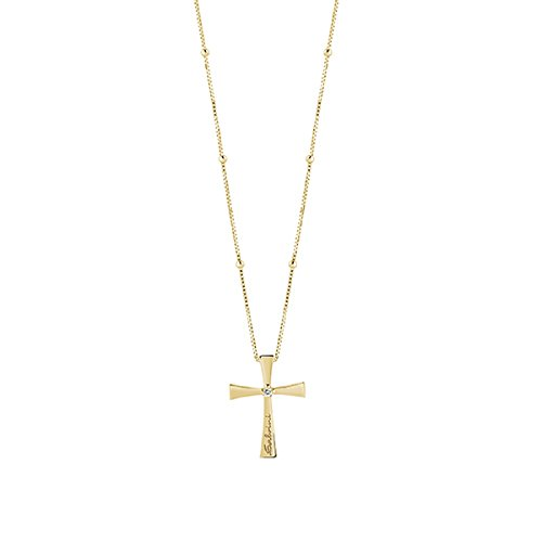 Salvini Haus Damiani, Kollektion giubilee, Collier in Gold Gelb 18 kt, mit Diamant (CT. 0,02).REF. 20068362