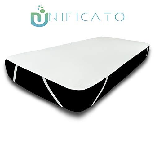 UNIFICATO - Coprimaterasso Impermeabile - Proteggi Materasso Traspirante - Anallergico - 160 x 200 cm