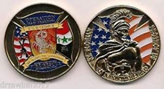F.O.B. Camp Cedar II, Iraq (Gold - New Style) fire Challenge Coin (Patch) by HighQ Store