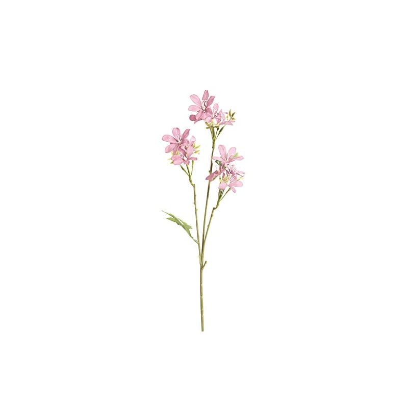 silk flower arrangements lfoewpp7 artificial flowers, 1pc diy artificial freesia garden, fake plant for office, small artificial faux greenery for house decorations light pink