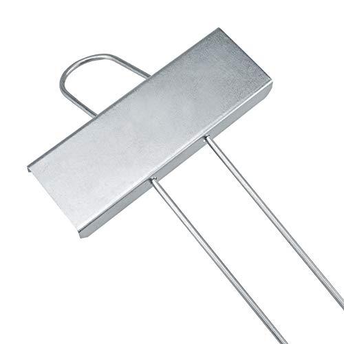 KINGLAKE 10 Stück Metall Pflanzenstecker Silber, Pflanzenschilder zum Beschriften Stecketiketten Pflanzen im Garten …