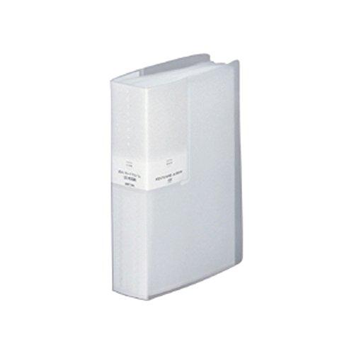 リヒトラブ ポストカードアルバム A6 60ポケット ホワイト G8110-0