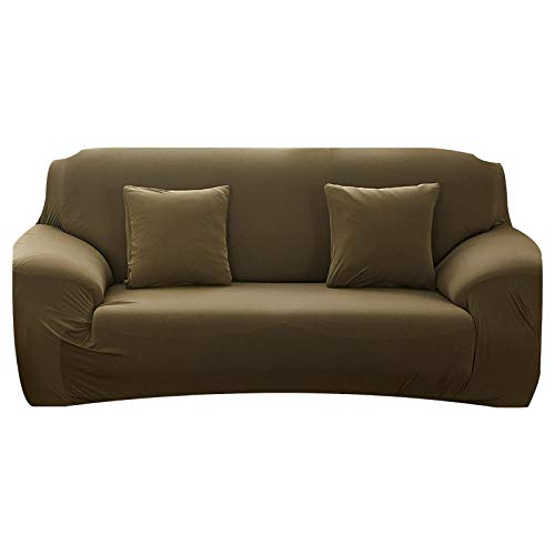 Fodera per divano elastico per soggiorno Fodera per divano elasticizzata antiscivolo Fodera per divano componibile Fodera per poltrona ad angolo a forma di L 1/2/3/4 posti-30_2 posti 145-185 cm