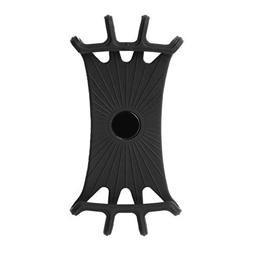 DHYED Soporte para manillar de bicicleta de silicona, soporte para teléfono móvil, giratorio 360 grados, soporte de bicicleta de montaña, marco de fijación, patinete eléctrico, soporte de navegación