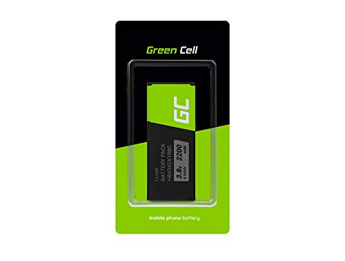 Batería de repuesto interna Green Cell HB4342A1RBC compatible con Huawei Ascend Y5 II Y6 Honor 4A 5 | Li-Ion | 2200 mAh 3.8 V | Batería de reemplazo para teléfono móvil del smartphone | Recargable
