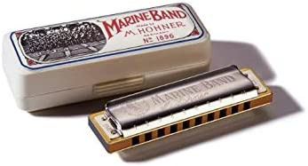 Hohner Accordions Marine Band Harmonica, Key Of C, 10