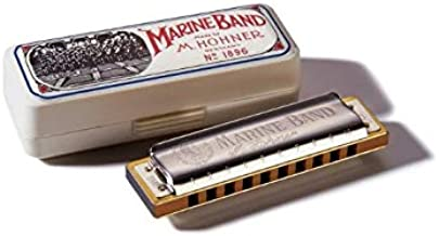 Hohner Marine Band هارمونیکا، کلید C