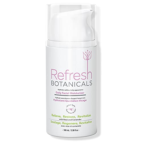 Refresh Botanicals Daily Facial Moisturizer ● Natural and Organic ● Made in...
