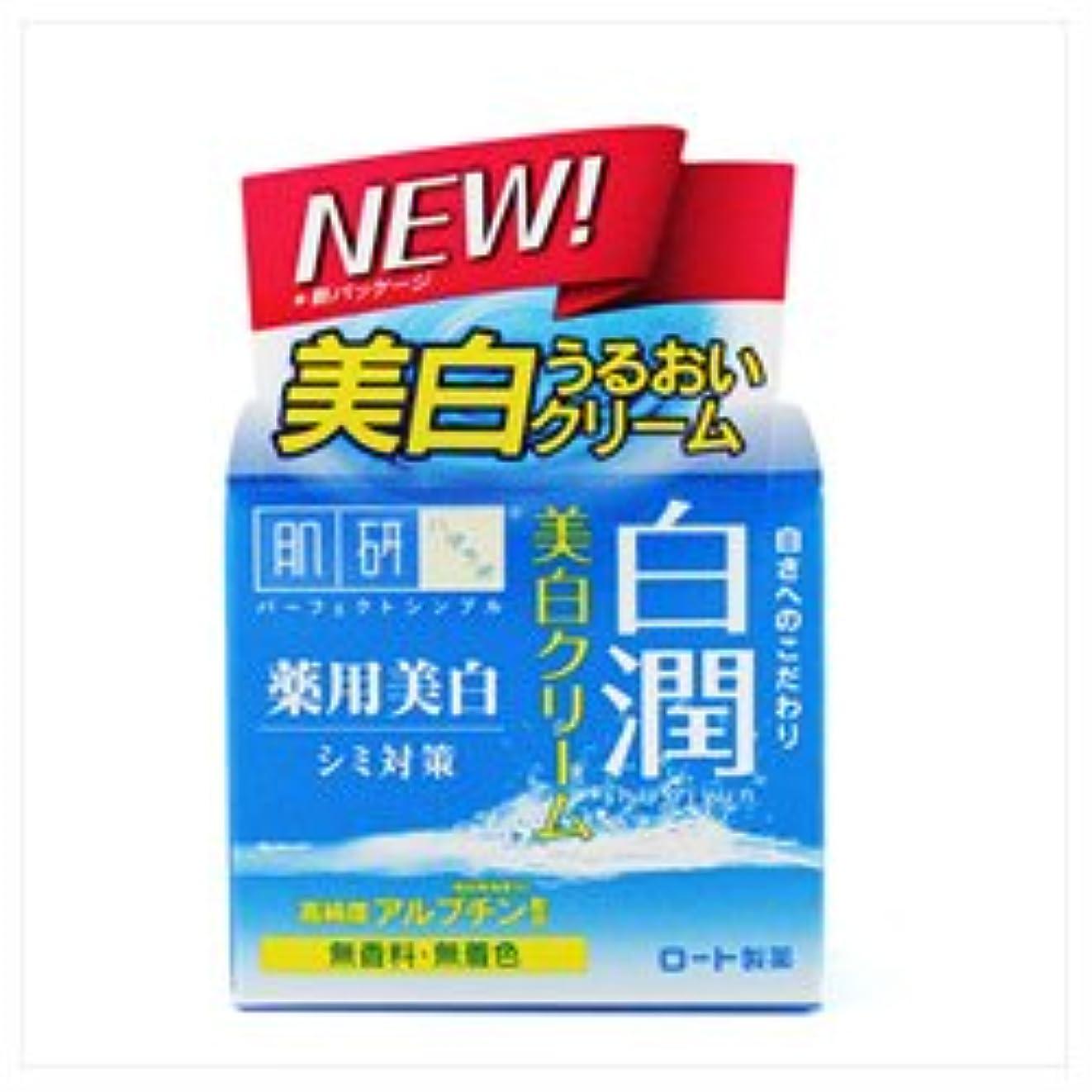 獲物パトワ国家【ロート製薬】肌研 白潤薬用美白クリーム 50g(医薬部外品) ×3個セット