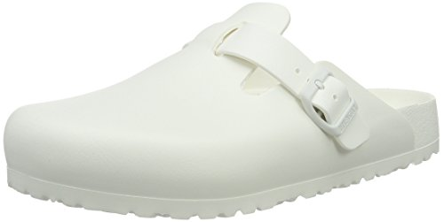 Birkenstock Herren BOSTON EVA Clogs, Weiß (White), 43 EU