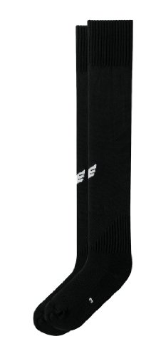 Erima Stutzenstrumpf mit Logo, schwarz