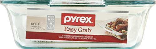 Pyrex Easy Grab 8' Glass Bakeware Dish