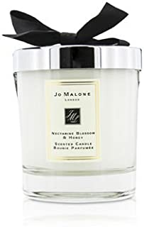 Nectarine Blossom & Honey Scented Candle for Women 200g (2.5 inch)