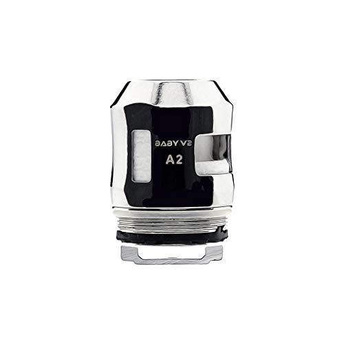 Smok Tfv-Mini V2 (TFV8 Baby V2) A2 0.2ohm Plata (Paquete de 3) Sin nicotina ni tabaco