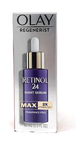 Olay Regenerist MAX Retinol 24 suero nocturno con vitamina B3, sin fragancia 1.3 oz