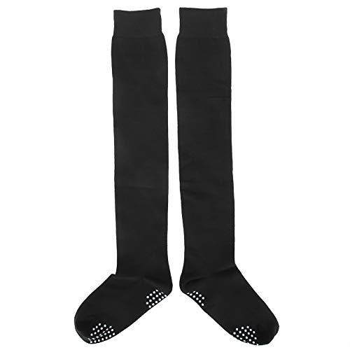 Material de algodón Calcetines de algodón, Medias negras Medias altas hasta el muslo únicas y de moda, Soporte de masaje para interiores para mujeres para exteriores para niñas