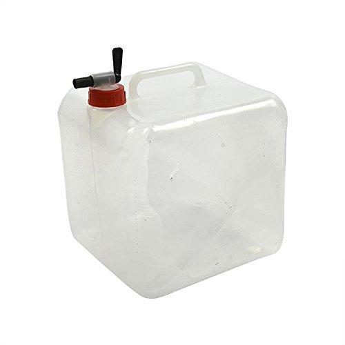 Faltbarer Wasserkanister mit Zapfhahn, 10 Liter, Ideal fürs Camping