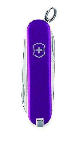 Victorinox Classic Multifunktions-Taschenmesser, violett