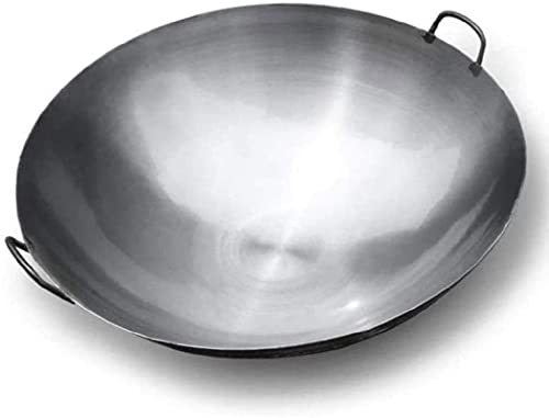 YONGYONGCHONG Wok Cocina Wok no Palo Cabina de Cocina Cacerola sin Recubrimiento Pan de cocción Antideslizante Aislamiento frío Mango