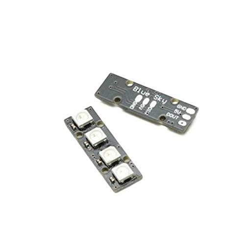 Sairis Portable Super Mini LED-Streifen mit 4 WS2812B RG85050 Bunte LED-Lampe für Naze32 CC3D Flight Controller RC Drone