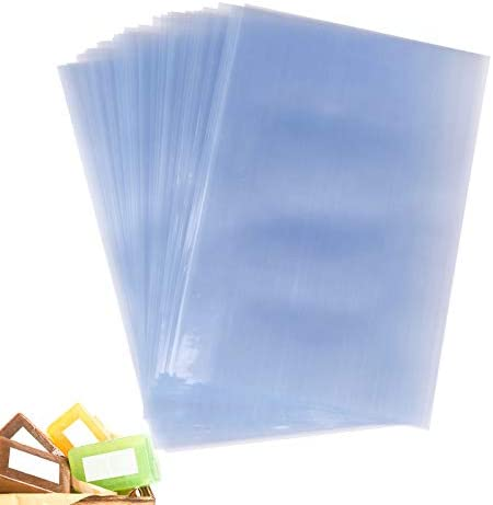 Shrink Wrap Bags 4x6 Inches PVC Heat Shrink Wrap Bags Clear Small Shrink Bags for Wrapping Handmade product image