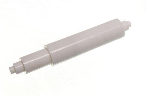 10 De Toilet Roll Holder rechange Blanc Rouleau Sprung plastique