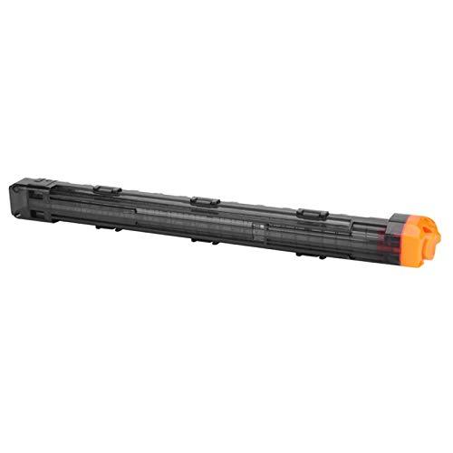 FOLOSAFENAR Clip De Bala De Espuma, Clip De Bala De Plástico para Pistola De Juguete(Negro)