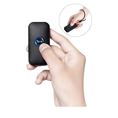 Tera 小型 1次元 CCD バーコードリーダー 液晶画面コード対応CMOSセンサー 有線 無線 Bluetooth USB 2.4Gワイヤレス 技適マーク付き 日本語取扱説明書 充電式 手持ち式 コンパクト バーコードスキャナー