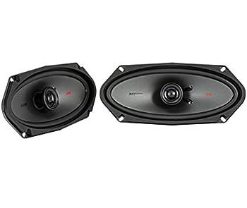 Kicker KSC41004 KSC4100 4x10 Coax Speakers with .5  tweeters 4-Ohm
