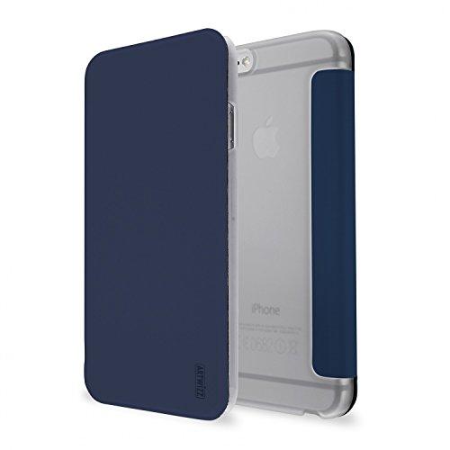 Artwizz 6344-1394 Schutzclip SmartJacket mit Frontcover für Apple iPhone 6/6S in nayv-blau