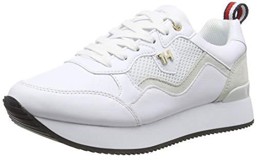 Tommy Hilfiger Damen Annie 7c Sneaker, Beige (White Ybs), 37 EU