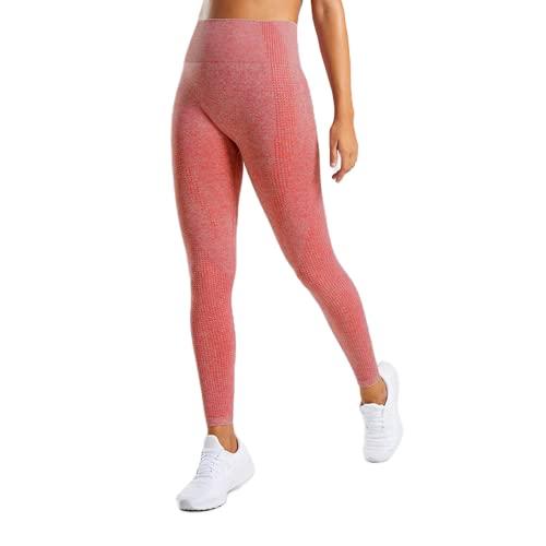 Pantalones de Yoga para Mujer, Mallas Deportivas Push Up de Cintura Alta, Mallas de Entrenamiento para Correr, Fitness, Deportes, Pantalones de Control de Barriga HM