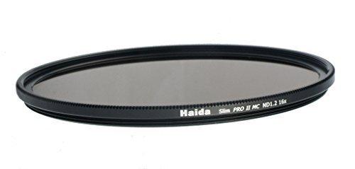 Haida Slim ND Graufilter PRO II MC (mehrschichtvergütet) ND1.2 (16x) - 82mm - inkl. Cap mit Innengriff