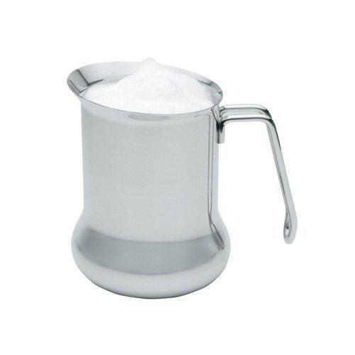 Kitchen Craft Aufschäum-Milchkännchen Le Xpress 650ml aus Edelstahl in Silber, 12 x 17 x 22 cm