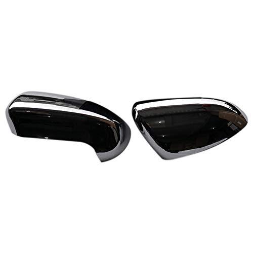 SAXTZDS Abs retrovisor lateral de la puerta de los espejos de la cubierta del ajuste del estilo del coche, para Nissan Qashqai J10 2007 2008 2009 2010 2011 2012 2013