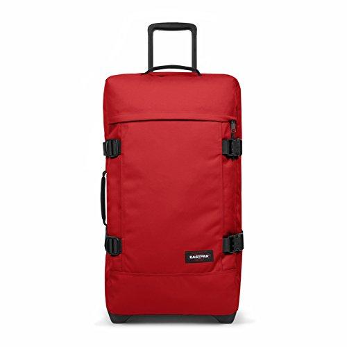 Eastpak Tranverz M Equipaje de Mano, 67 cm, 78 Liters, Rojo (Apple...