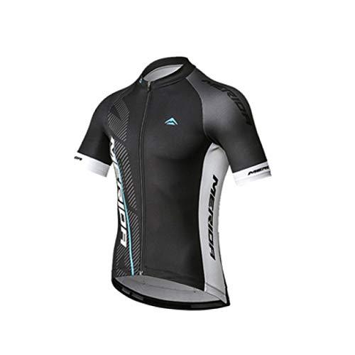 Owen Moll Men Cycling Jersey Suit Short Sleeves Breathable Shirt Padded Shorts Bib Pants Bike Clothing