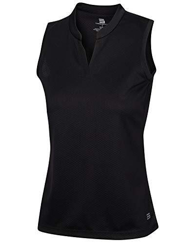 Three Sixty Six Womens Quick Dry Polo Shirt