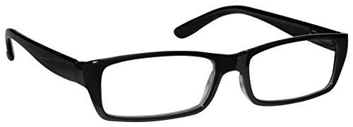 La Compañía Gafas De Lectura Negro Ligero Lectores Mujeres Señoras Bisagras Resorte R16-1 +2,00