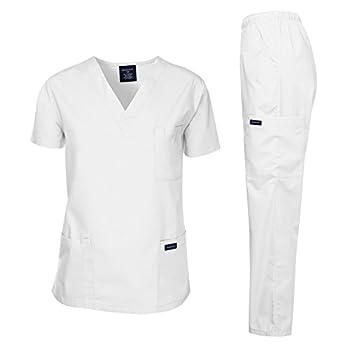 Best white scrubs for men Reviews