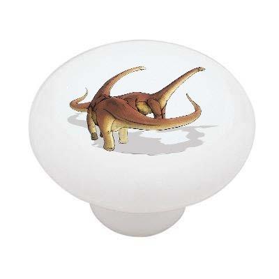 Alamosaurus Dinosaur Ceramic Drawer Knob