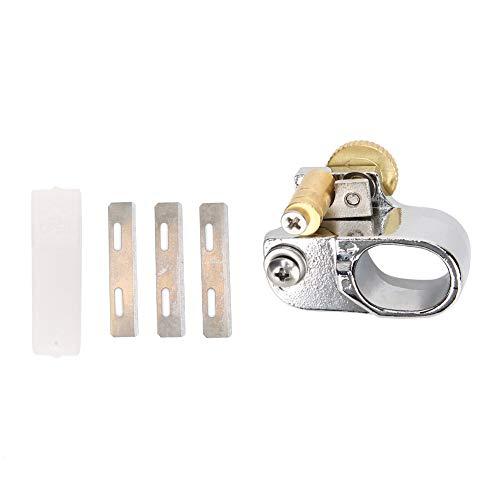 Herramienta de corte de tiras de cuero de mano para corte de cinturón Mini máquina de corte manual para accesorios de corte manual de dedo de cinturón