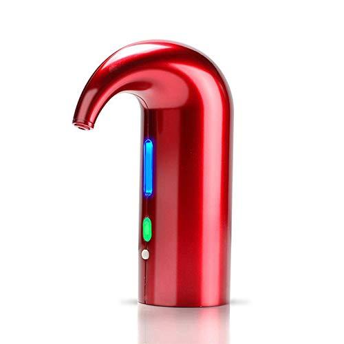 GTJXEY Vino Elettrico aeratore Decanter, istantaneo One Touch Operation casa Intelligente elettronico Vino Rosso Veloce Decanter,Rosso