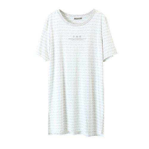 XING GUANG Camisón De La Camiseta De Las Mujeres Suaves Y C